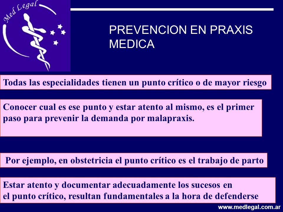 PREVENCION EN PRAXIS MEDICA