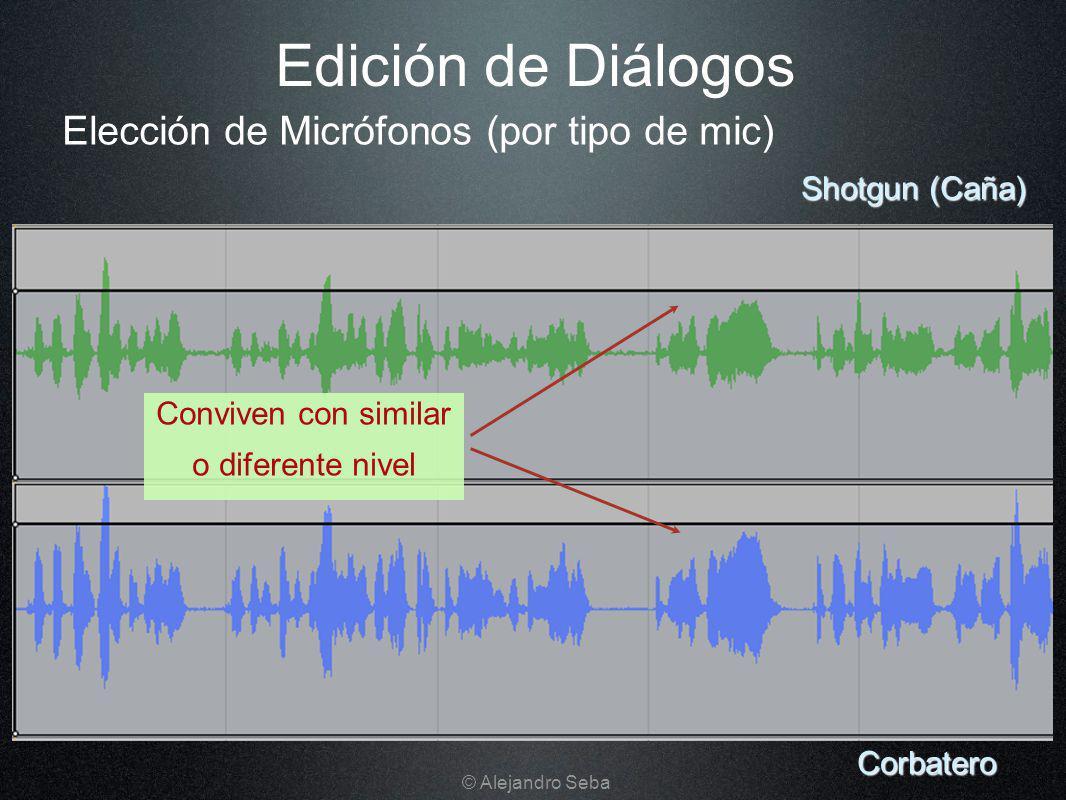 Edición de Diálogos Elección de Micrófonos (por tipo de mic)