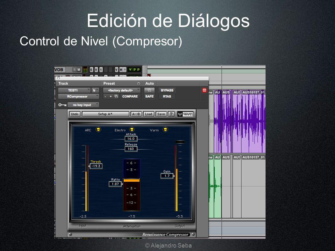 Edición de Diálogos Control de Nivel (Compresor) © Alejandro Seba