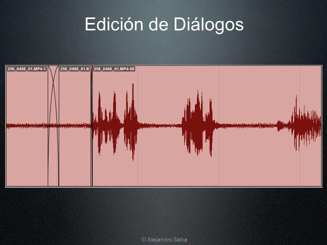 Edición de Diálogos © Alejandro Seba