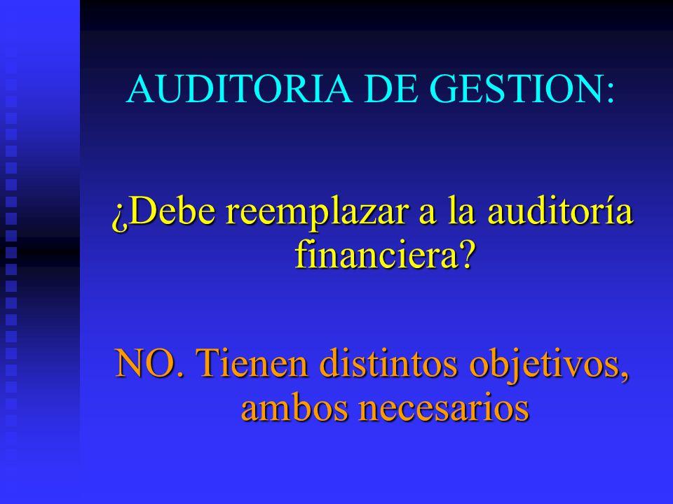¿Debe reemplazar a la auditoría financiera
