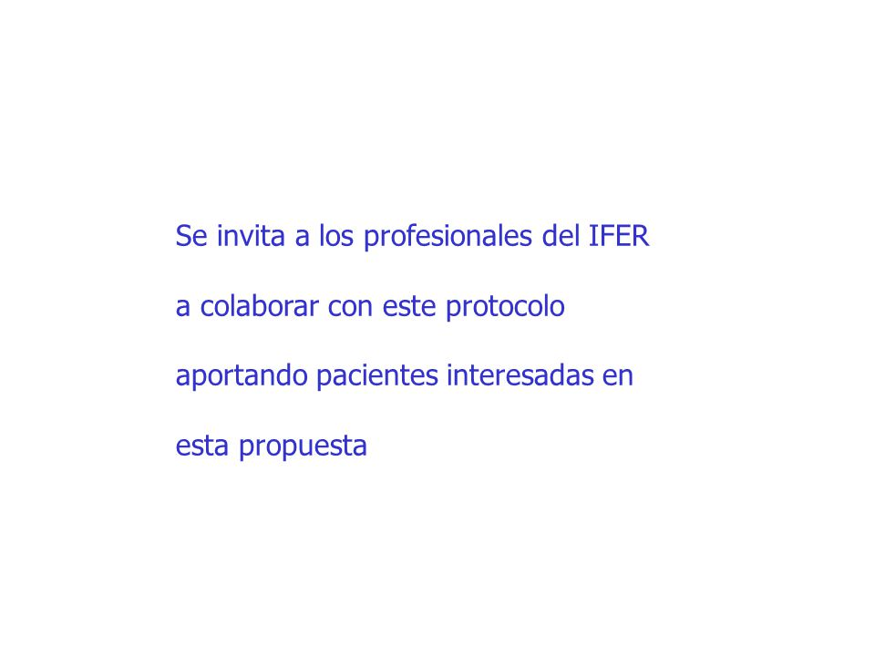Se invita a los profesionales del IFER