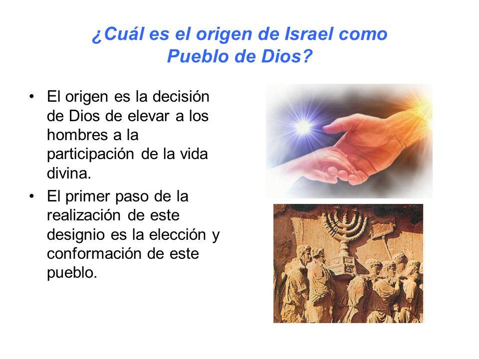 ¿Cuál es el origen de Israel como Pueblo de Dios