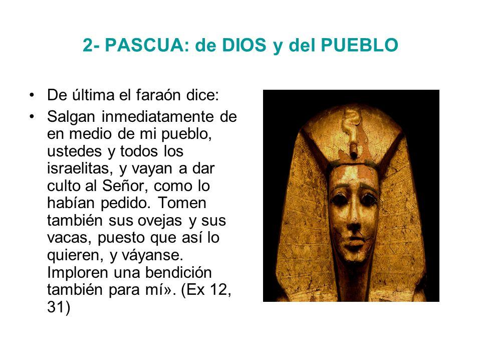 2- PASCUA: de DIOS y del PUEBLO