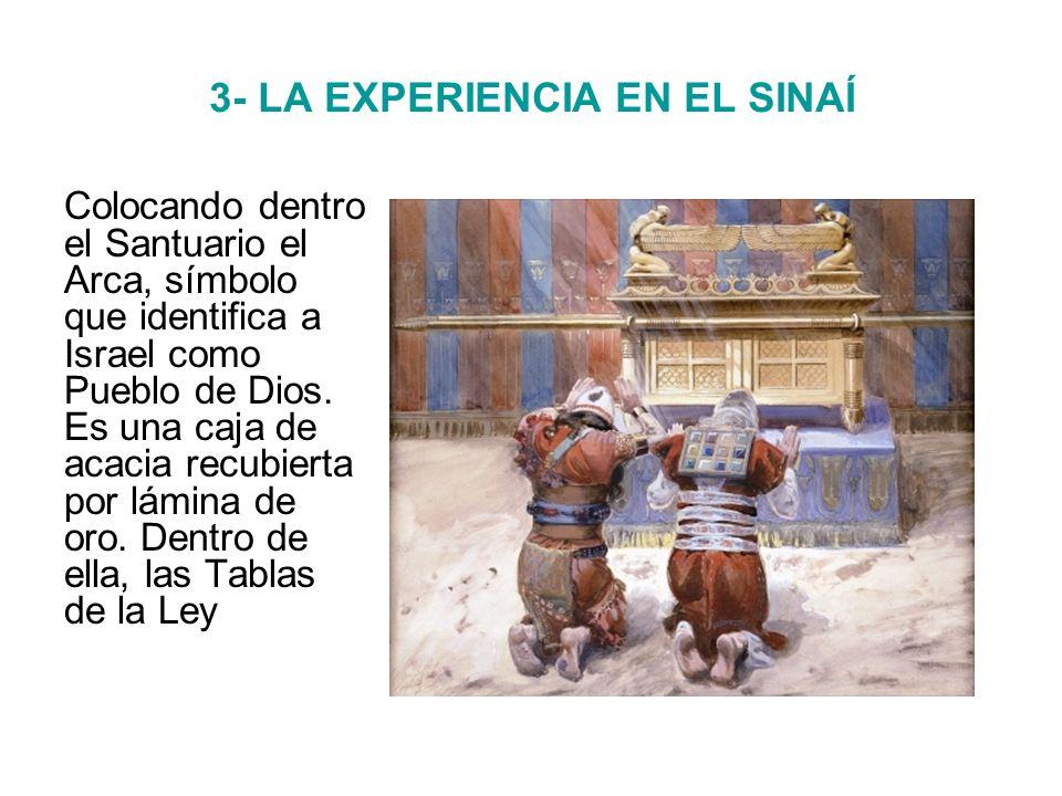 3- LA EXPERIENCIA EN EL SINAÍ