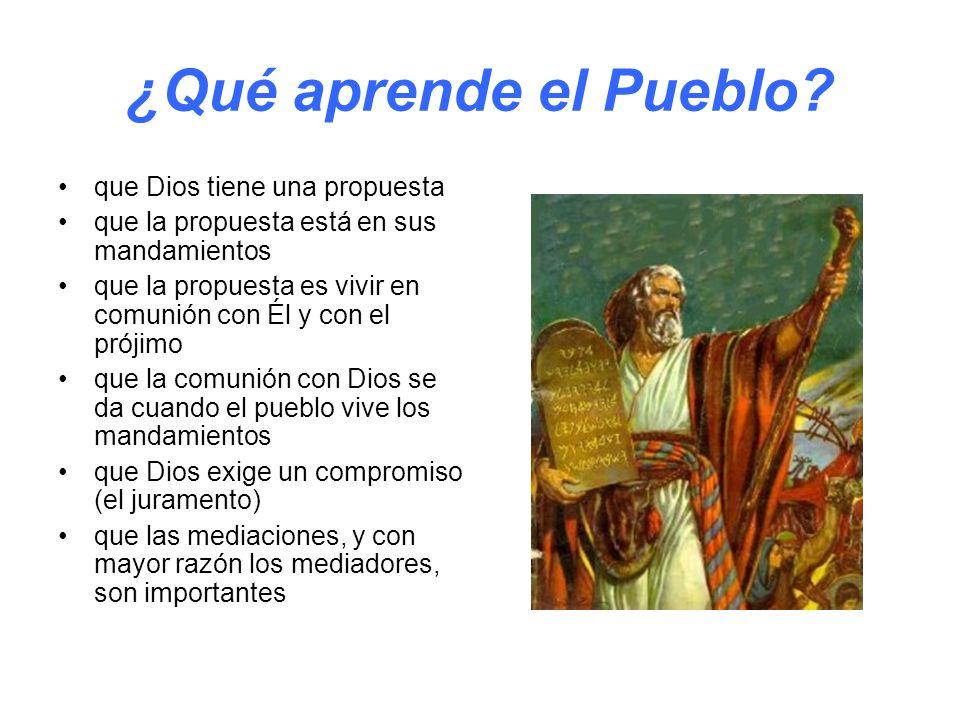 ¿Qué aprende el Pueblo que Dios tiene una propuesta