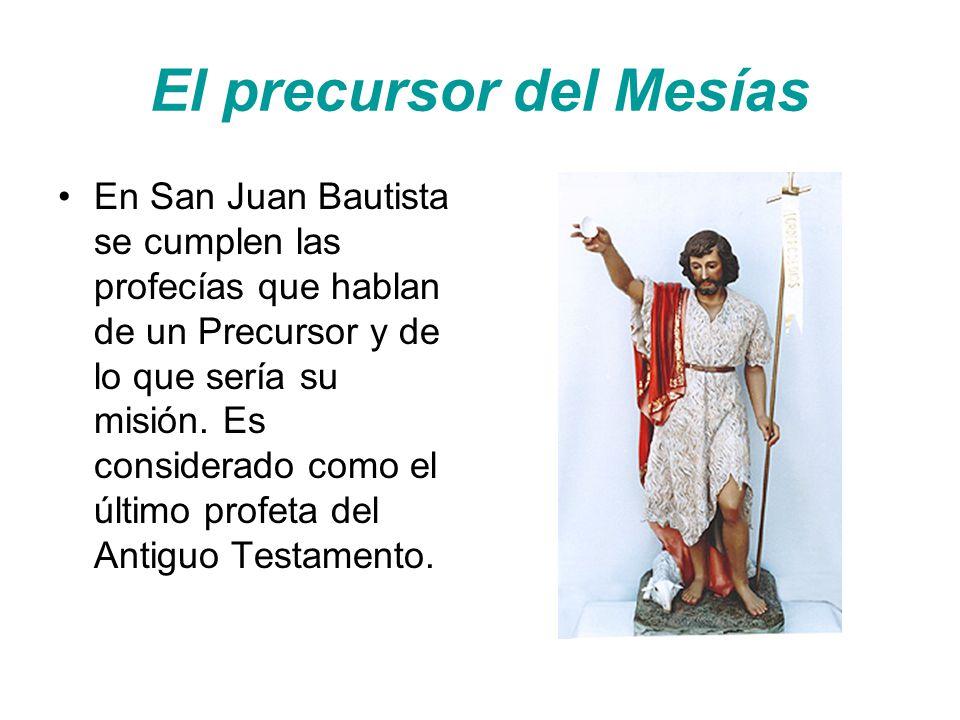 El precursor del Mesías