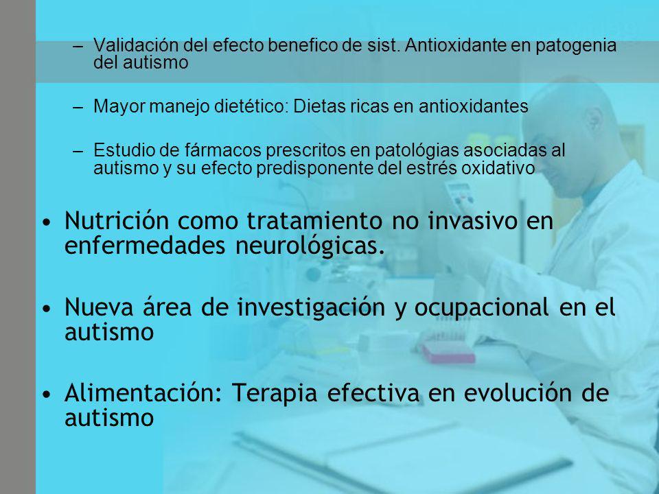 Nutrición como tratamiento no invasivo en enfermedades neurológicas.