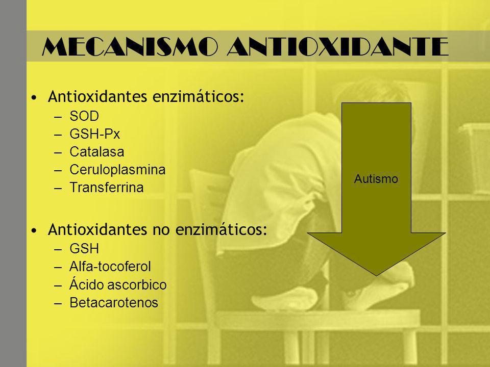 MECANISMO ANTIOXIDANTE