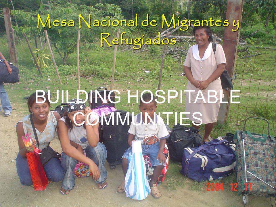 Mesa Nacional de Migrantes y Refugiados