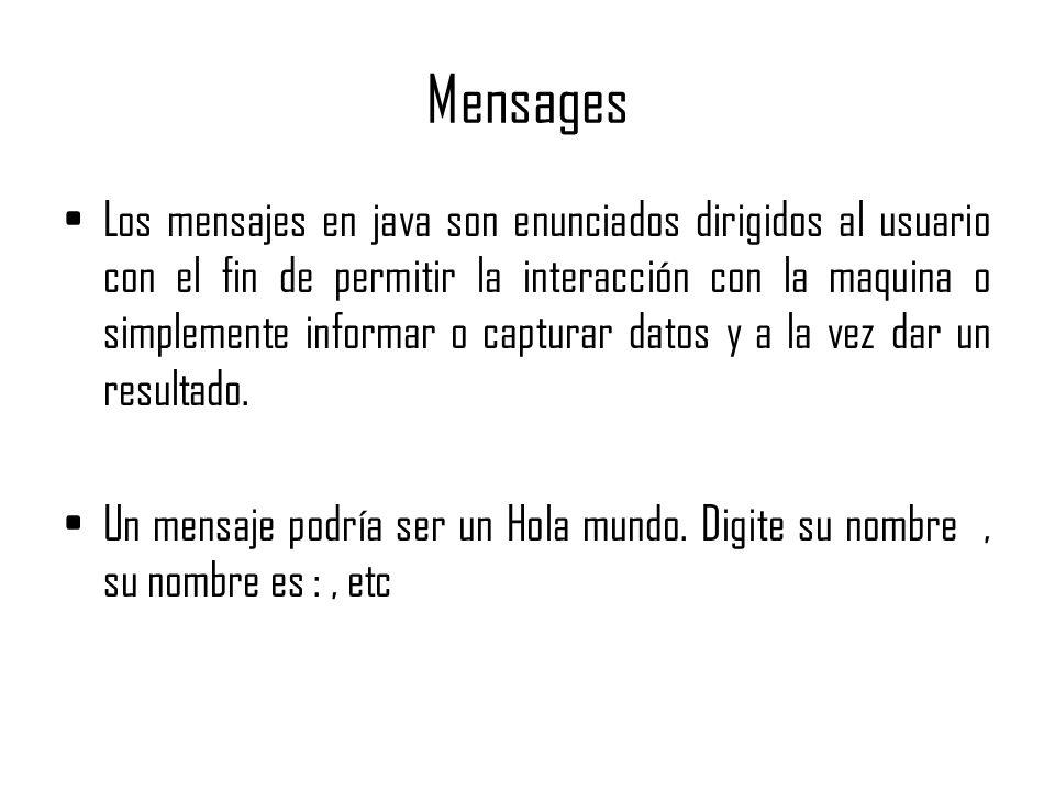 Mensages