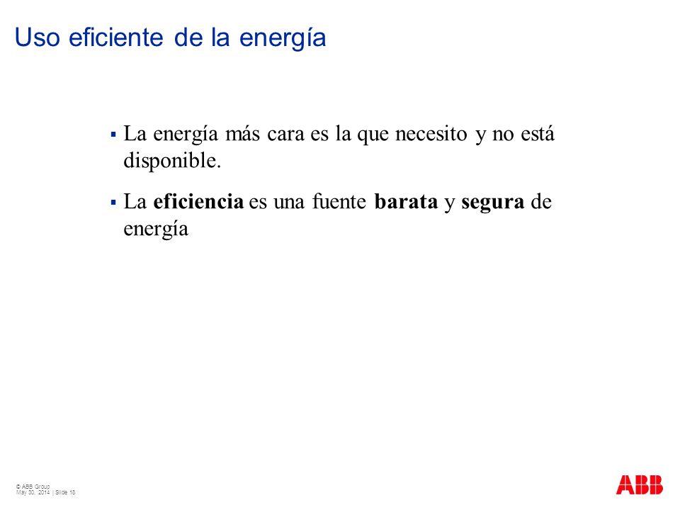 Uso eficiente de la energía