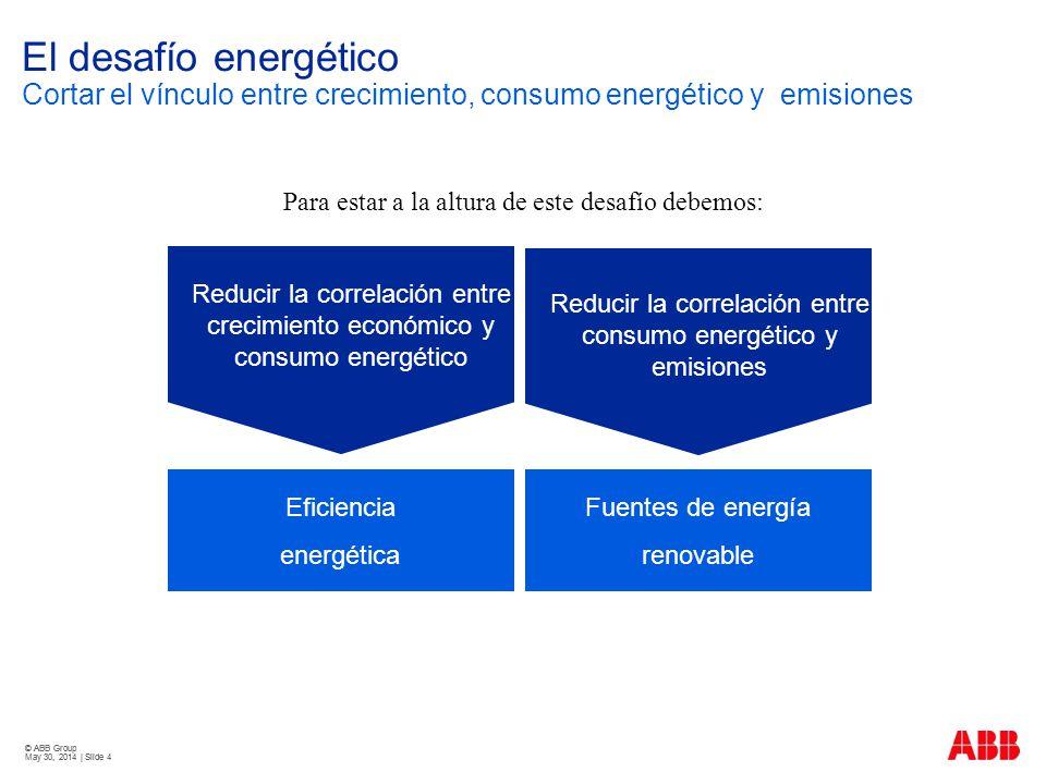 El desafío energético Cortar el vínculo entre crecimiento, consumo energético y emisiones