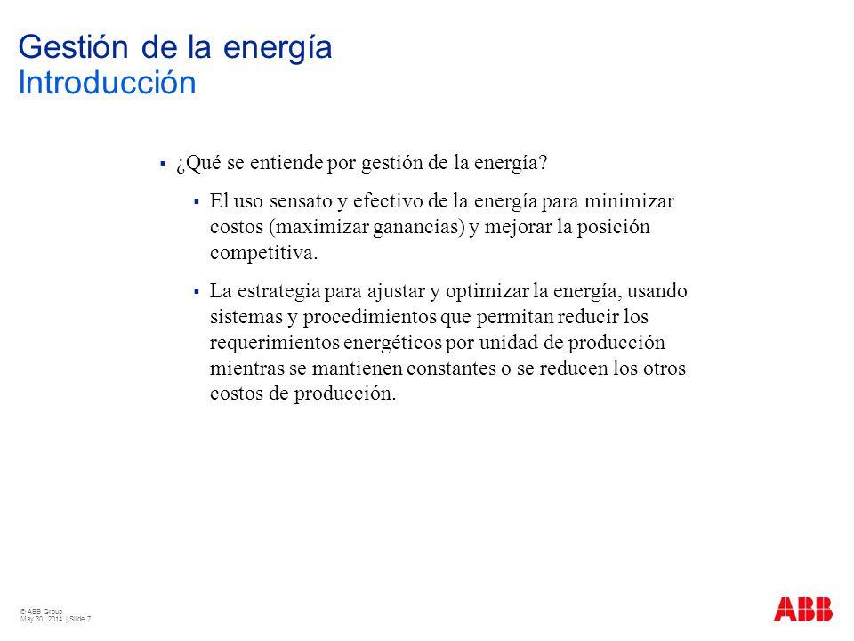 Gestión de la energía Introducción