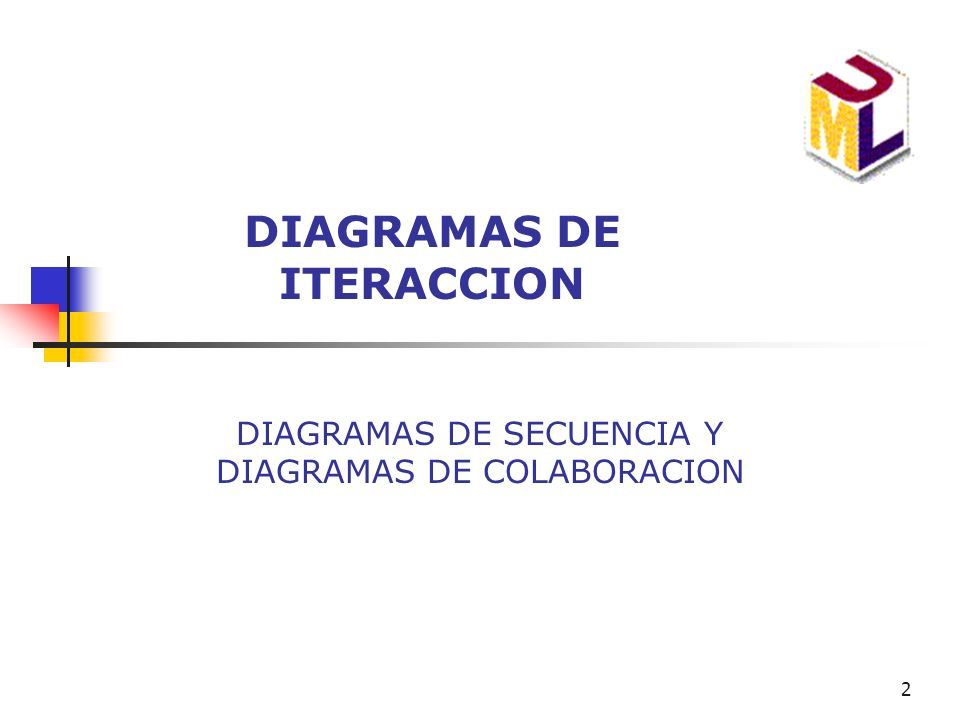 DIAGRAMAS DE ITERACCION