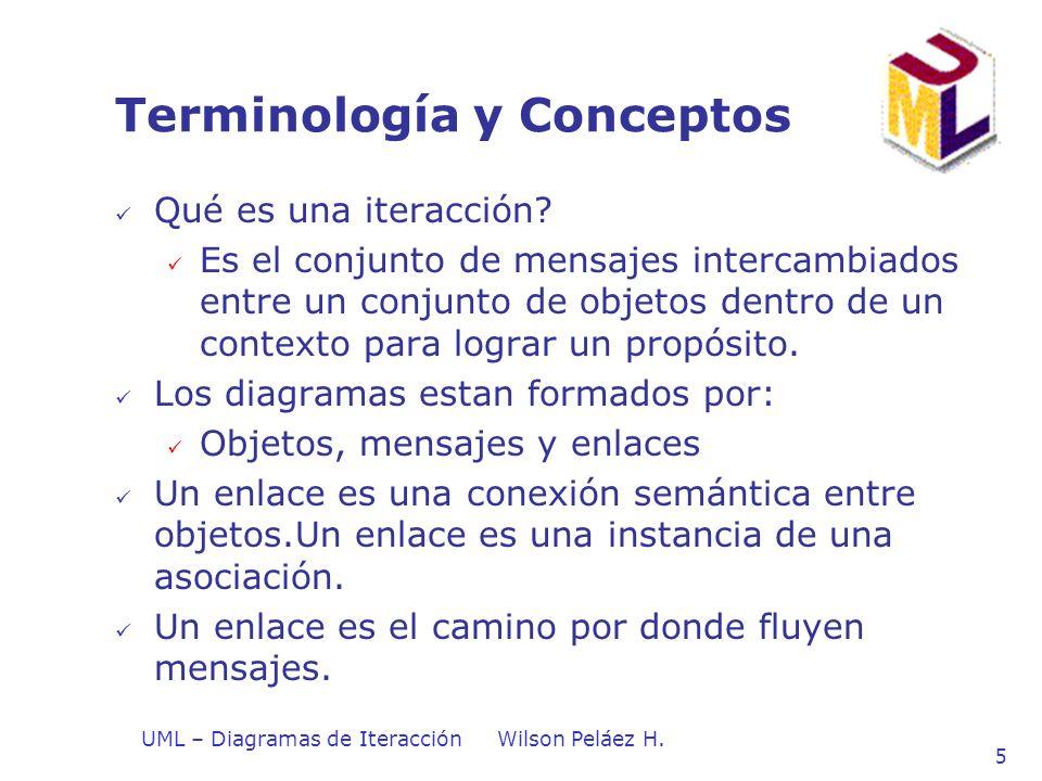 Terminología y Conceptos