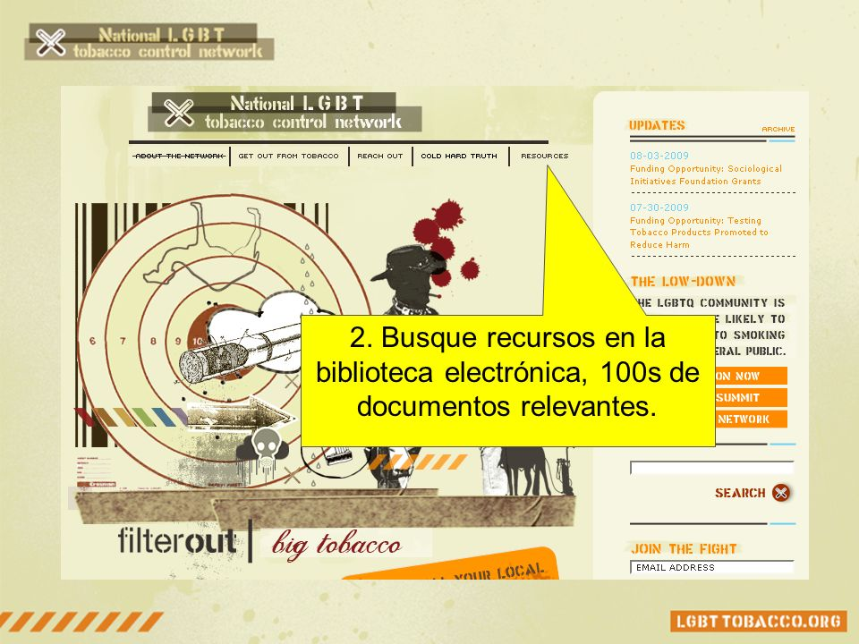 1a. ¿Solo quiere info mensual Únase a NEWS listserv