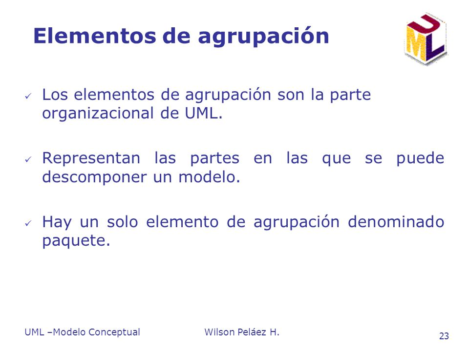 Elementos de agrupación