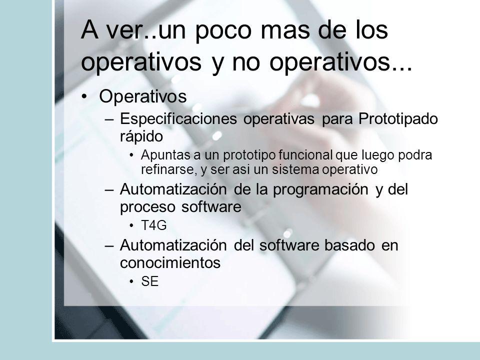 A ver..un poco mas de los operativos y no operativos...
