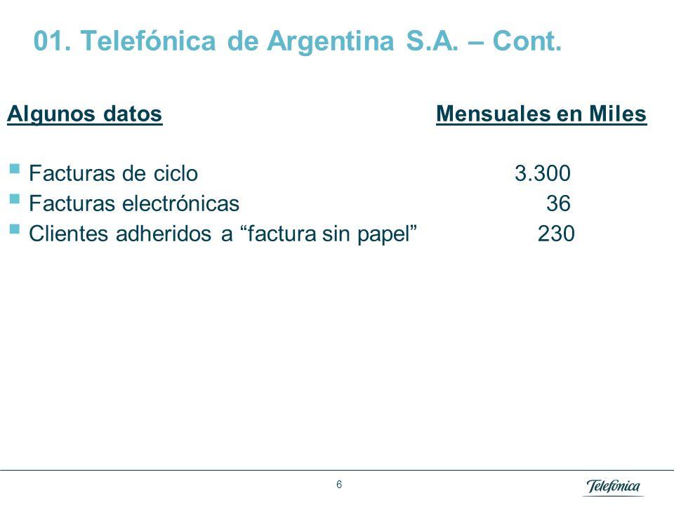 02 Telefónica Móviles (Movistar) 7