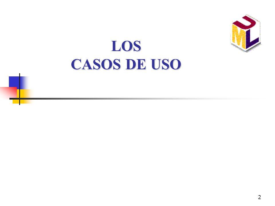Introduccion a UML LOS CASOS DE USO