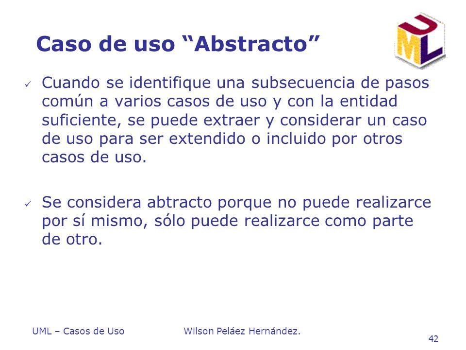 Caso de uso Abstracto