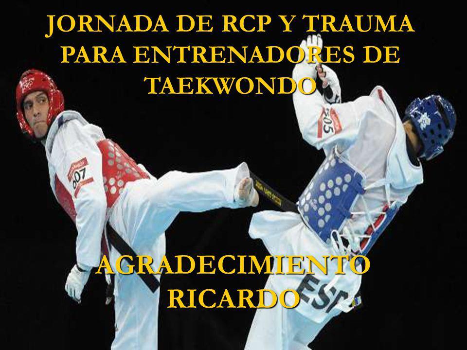 JORNADA DE RCP Y TRAUMA PARA ENTRENADORES DE TAEKWONDO