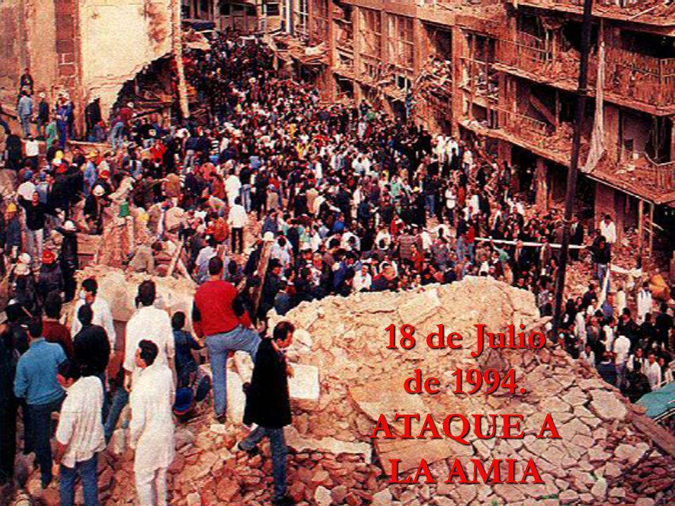 18 de Julio de 1994. ATAQUE A LA AMIA