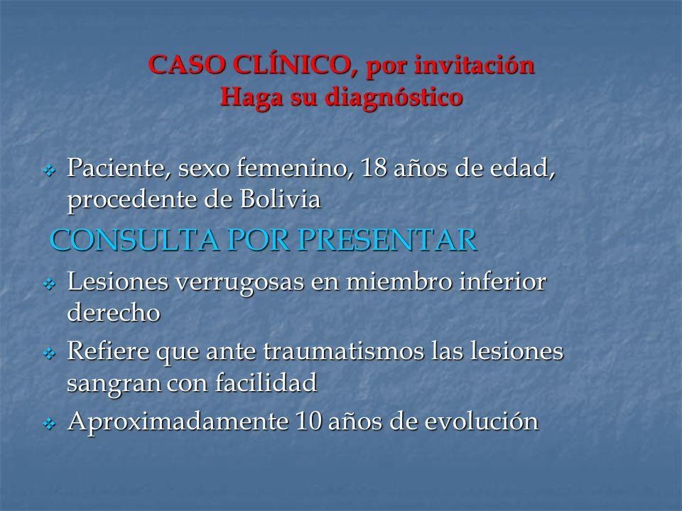 CASO CLÍNICO, por invitación Haga su diagnóstico
