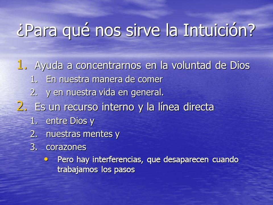 ¿Para qué nos sirve la Intuición