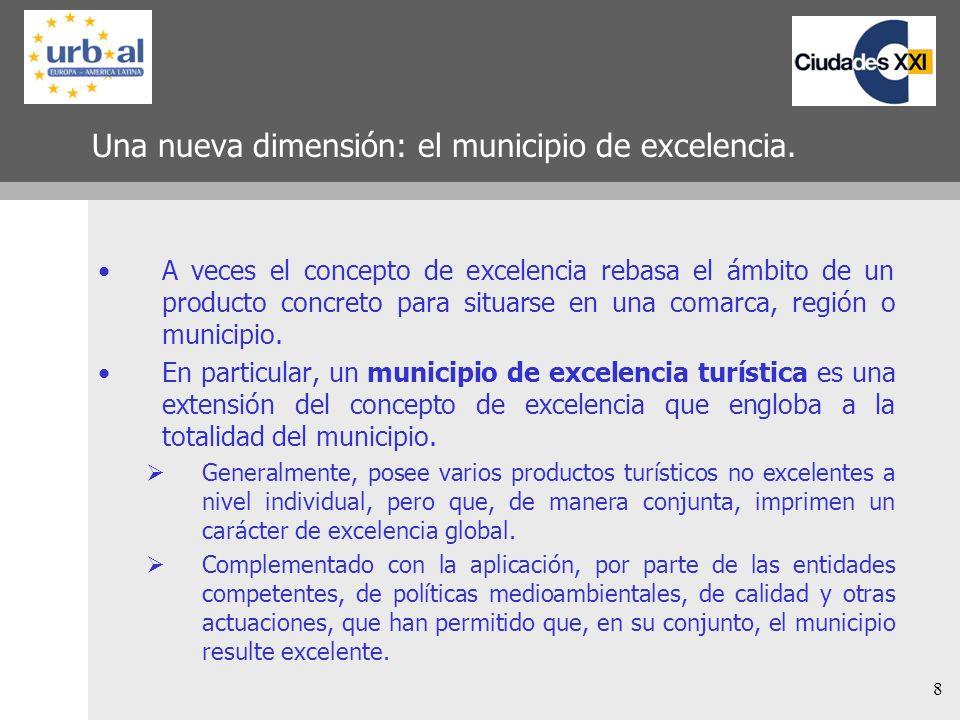 Una nueva dimensión: el municipio de excelencia.