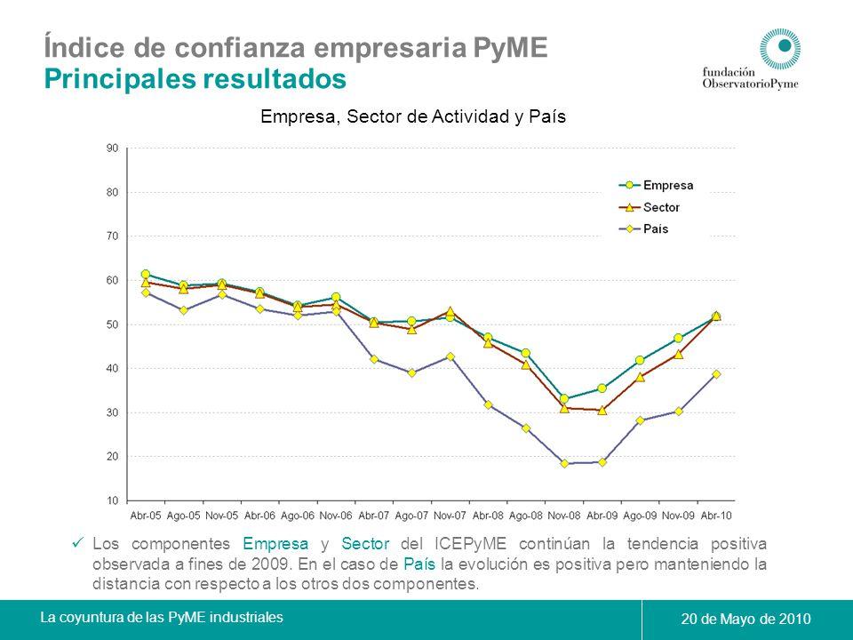 Empresa, Sector de Actividad y País