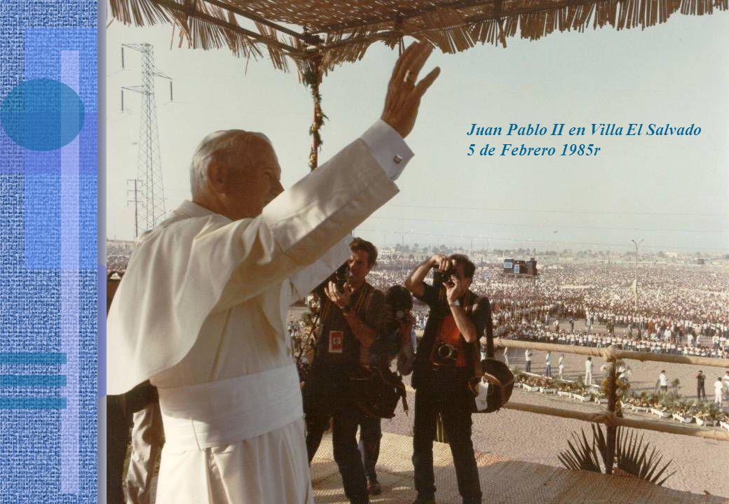 Juan Pablo II en Villa El Salvado