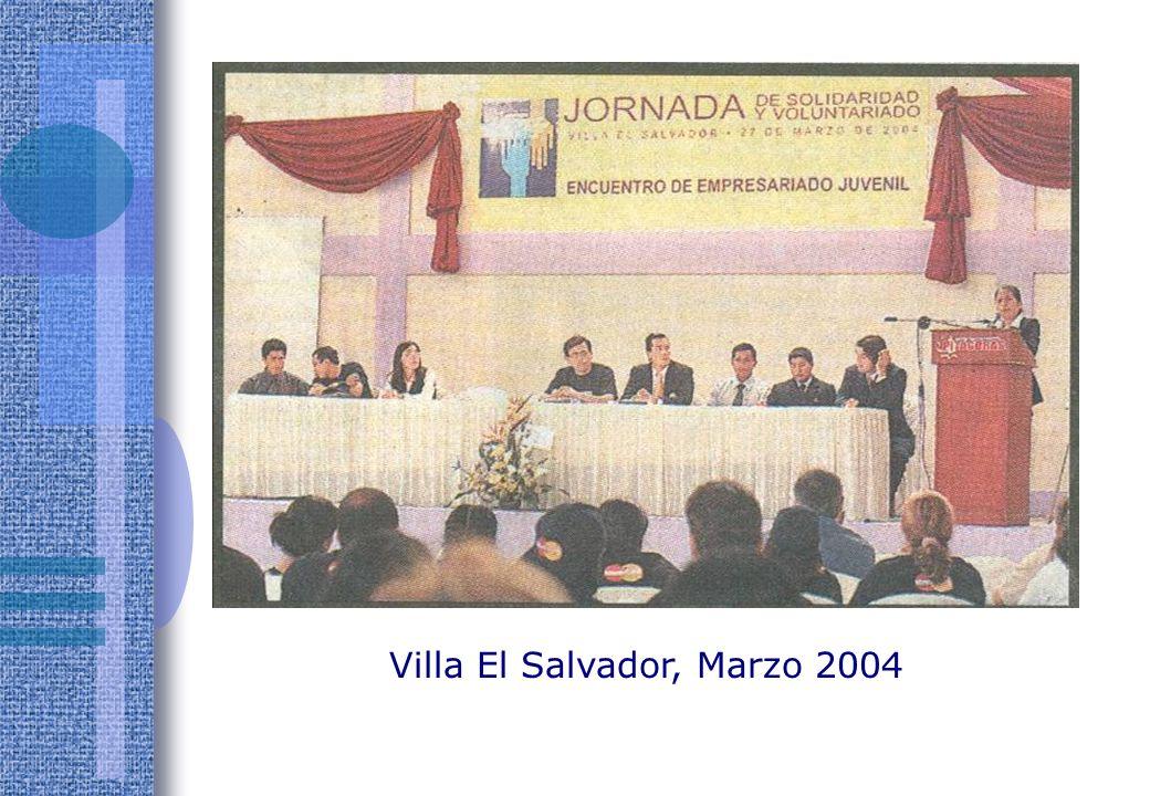 Villa El Salvador, Marzo 2004
