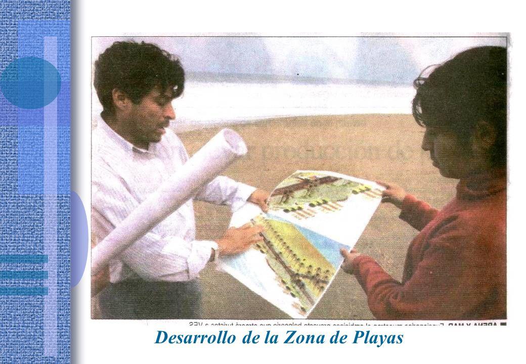 Desarrollo de la Zona de Playas