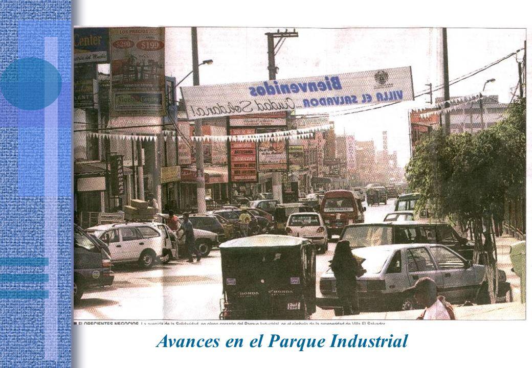 Avances en el Parque Industrial