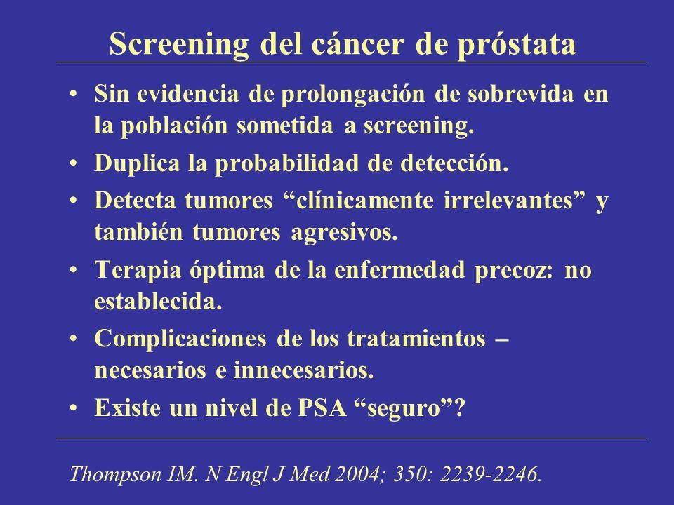 Screening del cáncer de próstata