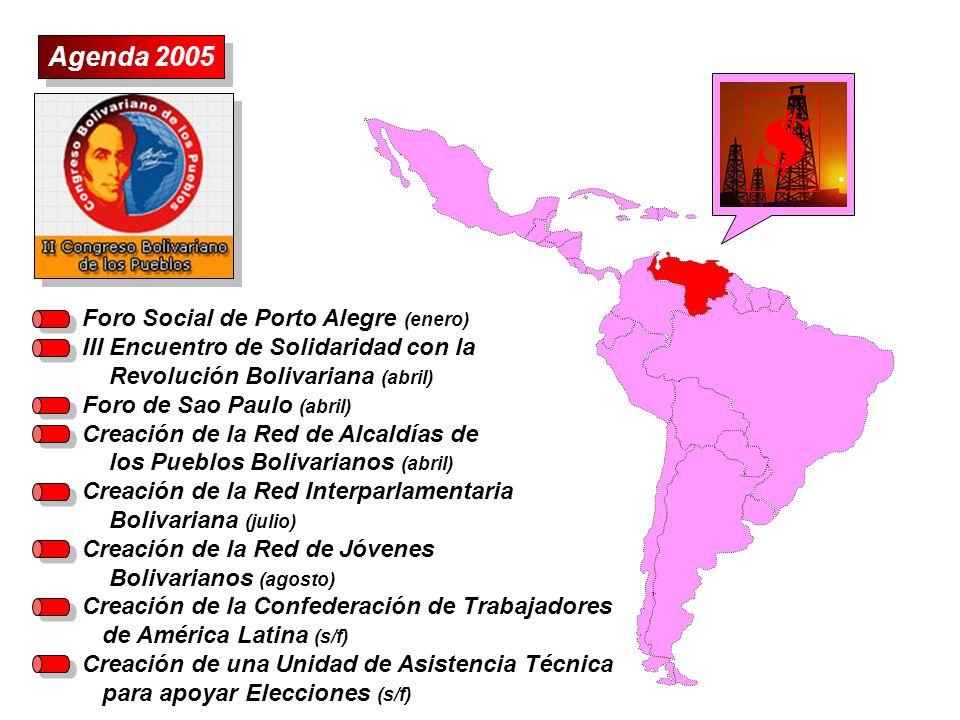 S Agenda 2005 Foro Social de Porto Alegre (enero)