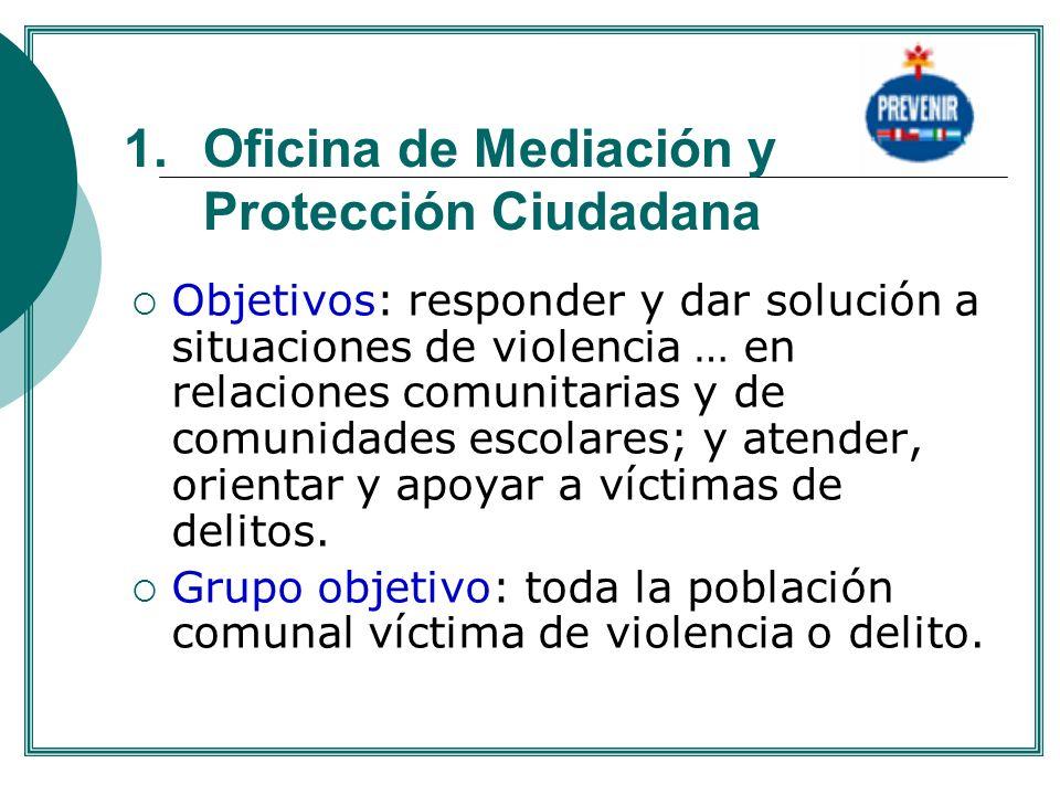 Oficina de Mediación y Protección Ciudadana