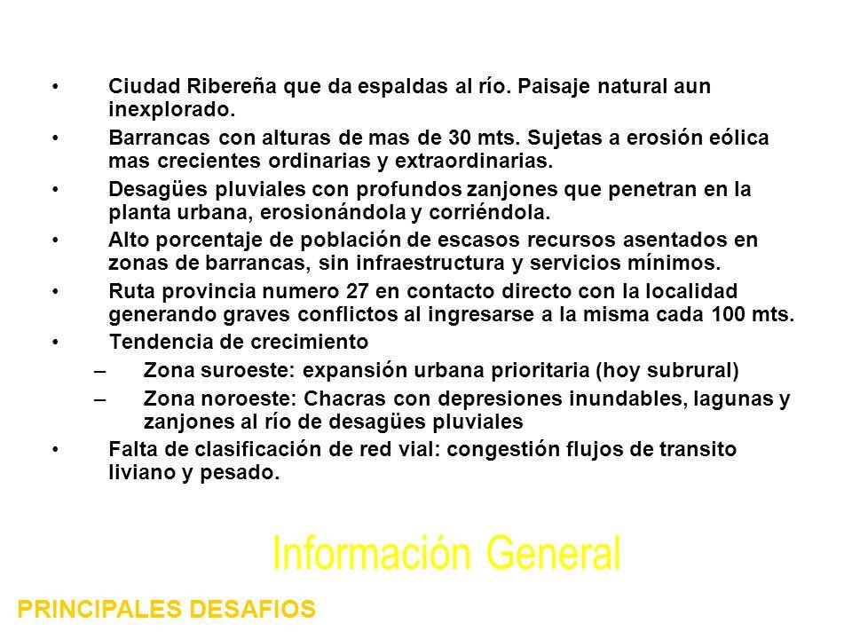 Información General PRINCIPALES DESAFIOS
