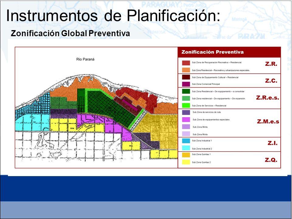 Instrumentos de Planificación: