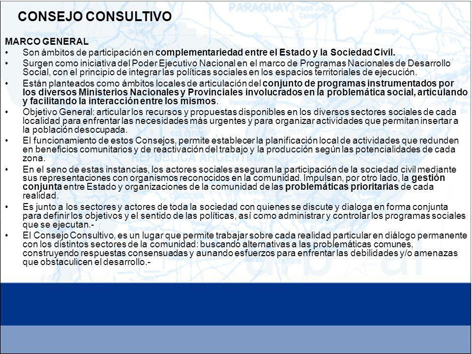 CONSEJO CONSULTIVO MARCO GENERAL