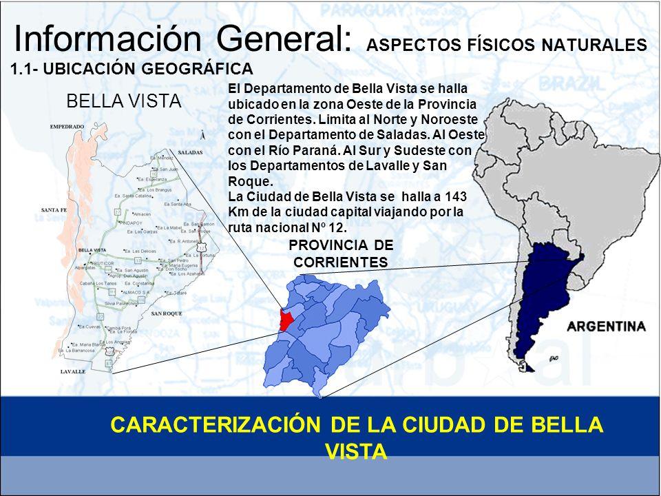 Información General: ASPECTOS FÍSICOS NATURALES