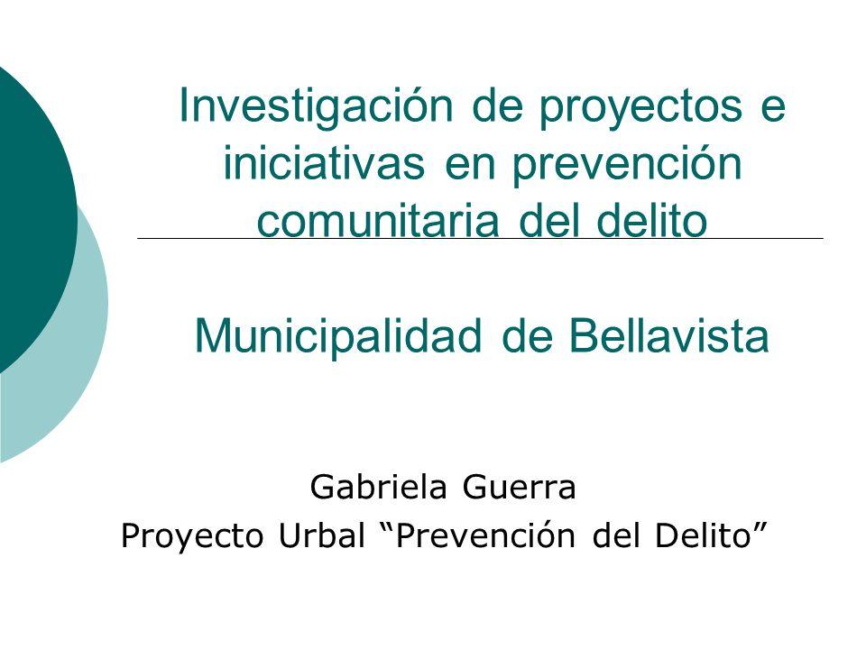 Gabriela Guerra Proyecto Urbal Prevención del Delito