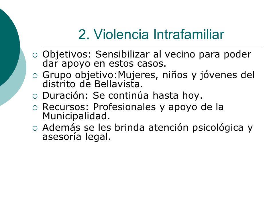 2. Violencia Intrafamiliar
