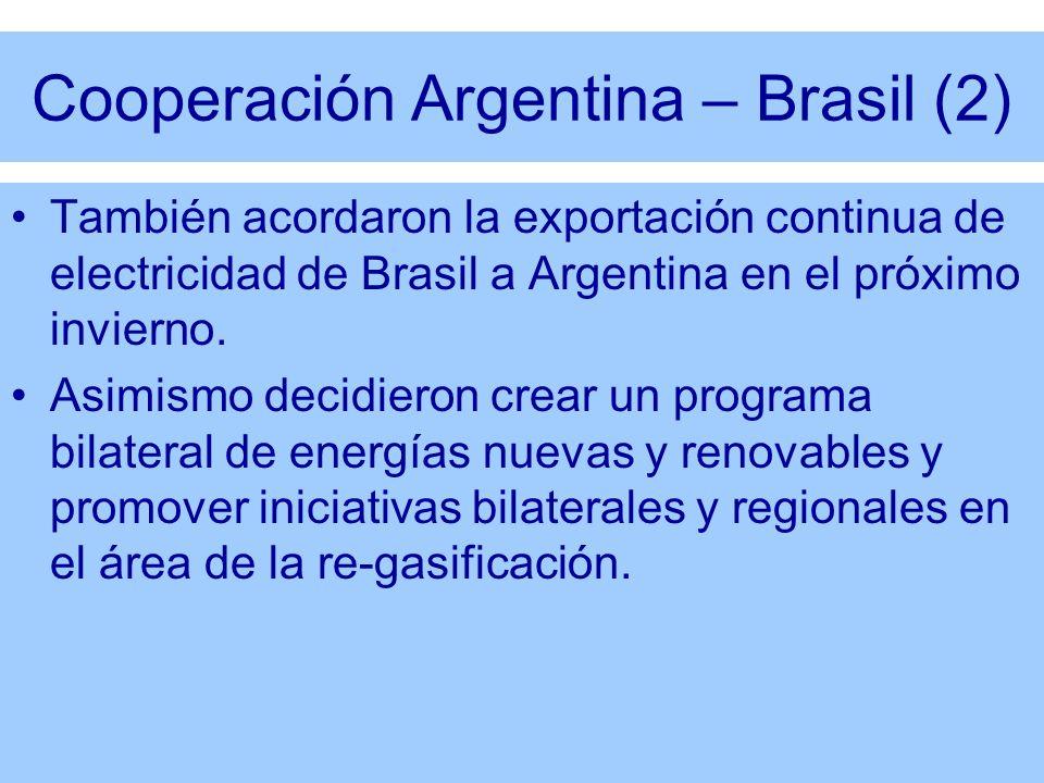 Cooperación Argentina – Brasil (2)
