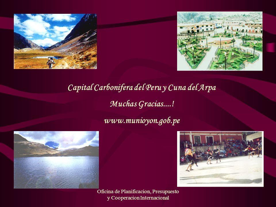 Capital Carbonifera del Peru y Cuna del Arpa