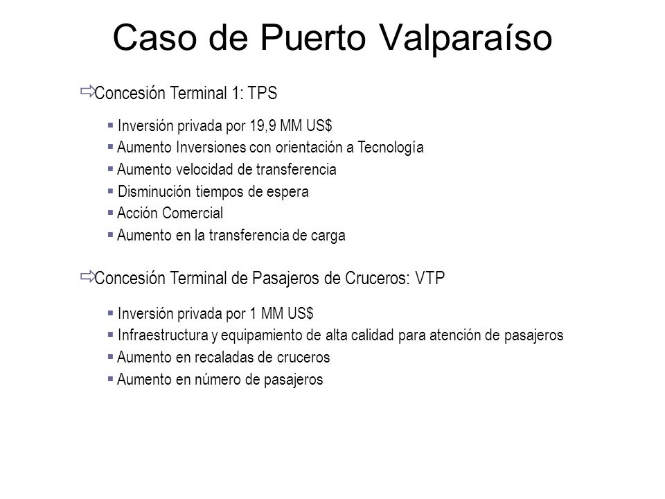 Caso de Puerto Valparaíso