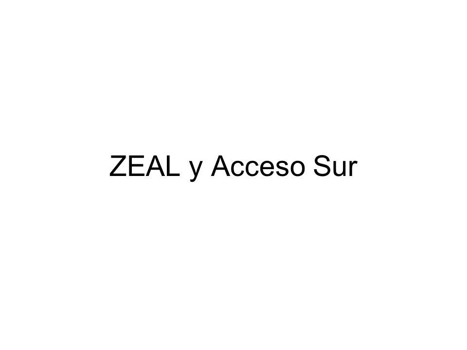 ZEAL y Acceso Sur