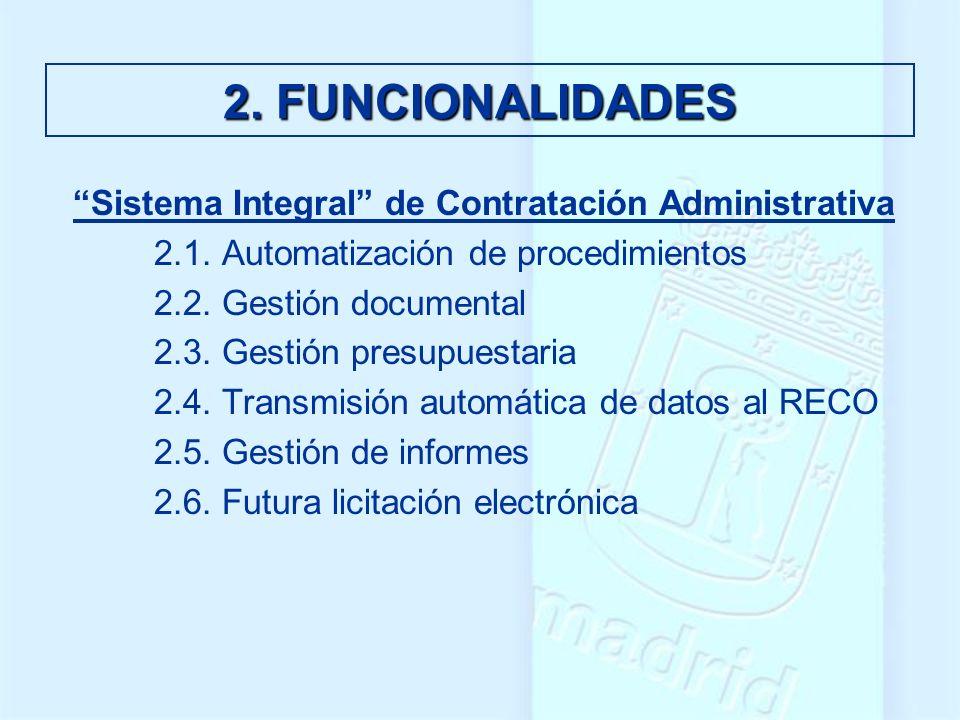 Sistema Integral de Contratación Administrativa